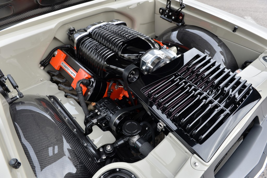 Wegner Motorsports provided the monstrous amount of horsepower with a Whipple-supercharged LS7 engine.