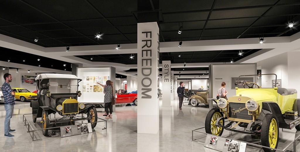 3rd Floor - Milestones Gallery