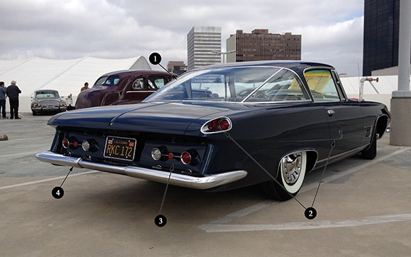 1962-Ghia-L6.4-rear-numbered
