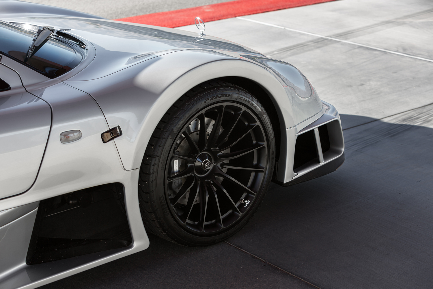 Mercedes-Benz CLK GTR front HRE Wheels