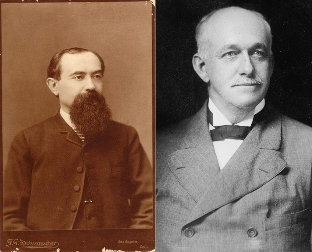 Isaias Hellman and Henry Huntington